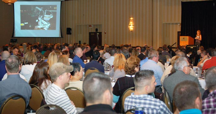 The conference drew more than 950 attendees.