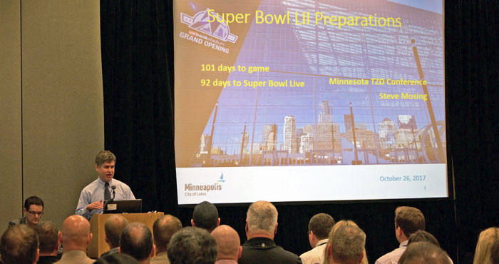 Presentation about super bowl preperations